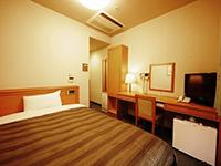 ホテルシングル「ホテルルートイン白河駅東」